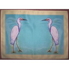 Snowy Egret Place Mat (Set of 4)