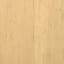 "3-5/8"" Solid Stained Strand Bamboo Flooring in White"