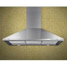 600 CFM Chimney Wall Hood