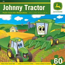 John Deere Johnny Tractor Harvest Time 60 Piece Jigsaw Puzzle