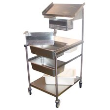 Full Size Mobile Bread and Batter Station