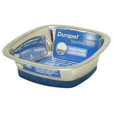 DuraPet Square Dog Bowl