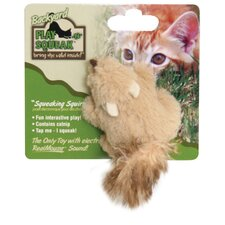 Play-N-Squeak Backyard Squirrel Cat Toy