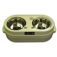 Store-N-Feed Adjustable Dog Feeder