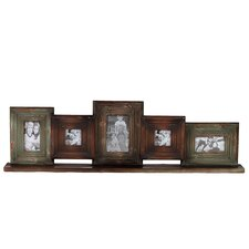 Wooden Multi-Photo / Mirrored Picture Frame