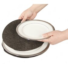Tabletop Storage Felt Plate Divider (Set of 48)