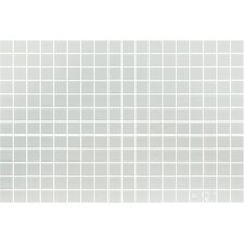 "Lisa 12-1/5"" x 18-1/10""  Glass Mosaic in Blanco"