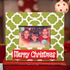 Merry Christmas Two Layer Picture Frame