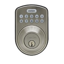 Large Format Electronic Deadbolt