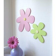 Wooden Daisy Cut-Out Wall Décor