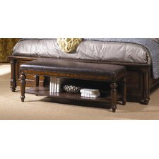 Highlands Faux Leather Bed Bench