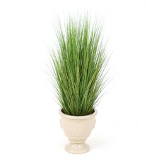 "48"" Varicolored Silk Grass Mix in Northampton Floor Urn"