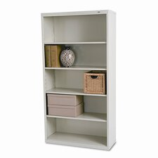 Metal Bookcase, 5 Shelves