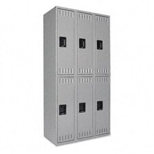 Double Tier Locker, 36W X 18D X 72H