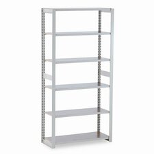 "Regal Shelving Add-On Unit, 6 Shelves, 15"" Length"