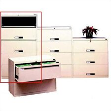Lateral File With 5 Drawers and Retractable Doors