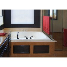 "Designer Evansport 60"" x 42"" Air Tub with Thermal System"