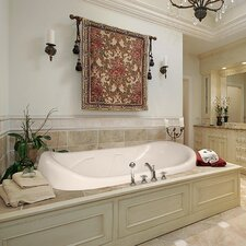 "Designer Natalie 78"" x 44"" Air Tub with Thermal System"