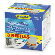 Refill 15.9 oz. Unscented Moisture Absorber (Pack of 3)