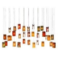 Autumn Leaves 33 Light Chandelier