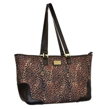 Animal Print Oversized Laptop Tote