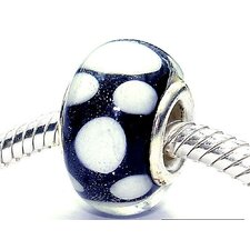 Coastal Bubbles Glass Bead (Pack of 3)