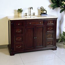 "48"" Solid Wood Sink Chest Vanity Set"