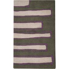 Signature Gray Green/Purple Rug