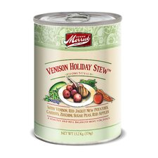 Venison Holiday Stew Canned Dog Food (13.2-oz, case of 12)