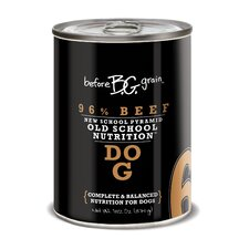 Before Grain Beef Canned Dog Food (13.2-oz, case of 12)