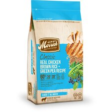 Classic Senior Real Chicken, Brown Rice and Green Pea  Dry Dog Food (5-lb bag)