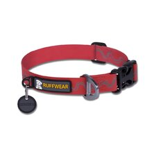 Headwater™ Stink-Proof Dog Collar in Red Currant