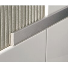Rust Resistant Stainless Steel Decoline Trim in Brushed