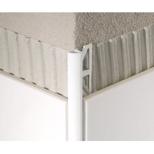 PVC Aluminum Quarter Circle Tile Trim