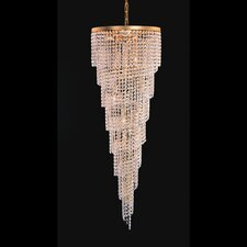 Shower 15 Light Crystal Chandelier
