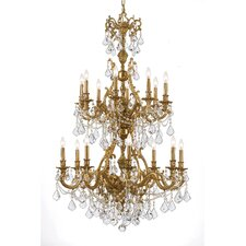 Ornate Yorkshire 16 Light Chandelier