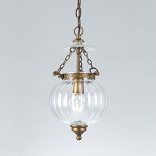 Melon Jars 1 Light Foyer Pendant