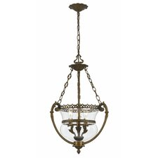 Camden Hill 3 Light Foyer Pendant