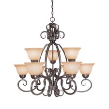 Sheridan 9 Light Chandelier