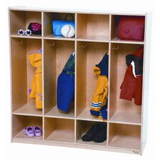 Four Section Locker