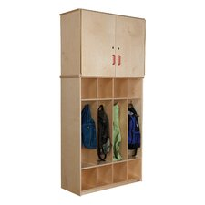 Coat Locker Vertical Storage Cabinet