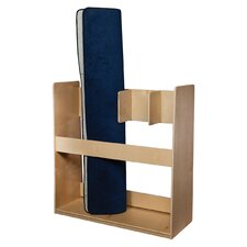 Natural Environment 4 Section Rug Holder
