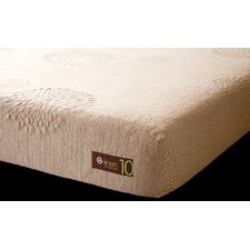 "10"" Linen Latex Foam Mattress"