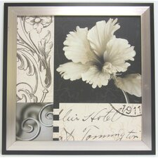 Soft Canvas Floral I Wall Art