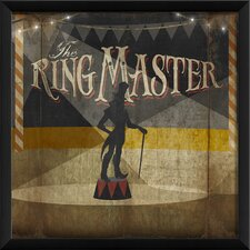 The Ringmaster Wall Art