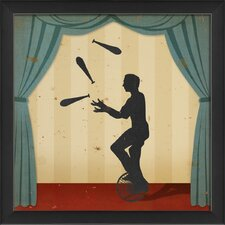 Stage Juggler Wall Art