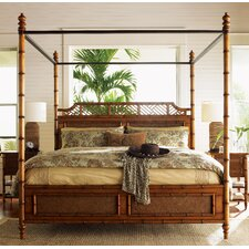 Island Estate West Indies Four Poster Bed