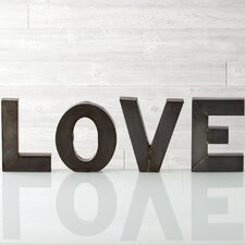 """Love"" Display Letters"