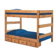 Full Over Full Standard Bunk Bed with Storage