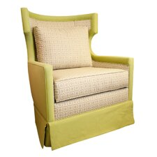 Windward Wingback Rocking Chair
